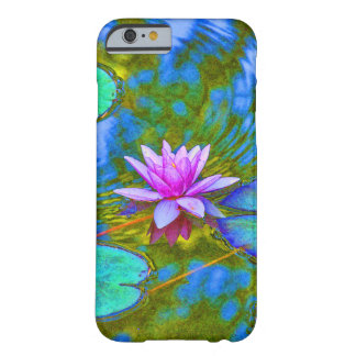 Elegant Reflections Pink Water Lily in Pond Barely There iPhone 6 Case