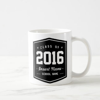 Elegant Retro Class Classic White Coffee Mug