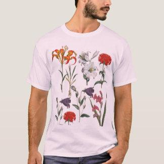 ELEGANT RETRO FLOWERS PATTERN T-Shirt