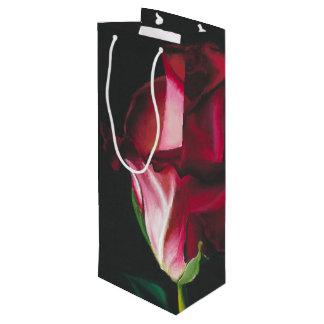 Elegant Romantic Single Rose Gift Bag