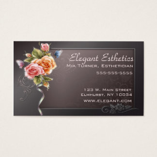 Elegant Rose Business Card