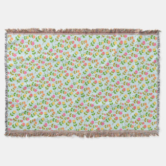 Elegant Rose Design Throw Blanket