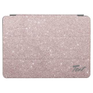 elegant rose gold glitter iPad air cover