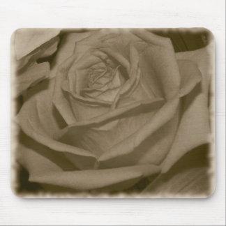 Elegant Rose Mouse Pad
