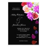 Elegant Roses and Multi coloured flowers wedding