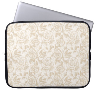 Elegant Roses Laptop Sleeve