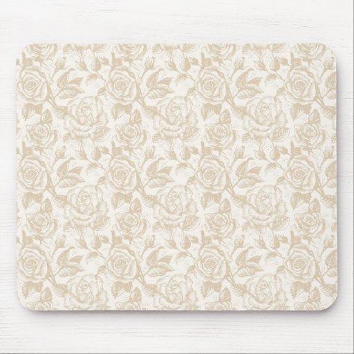 Elegant Roses Mouse Pad