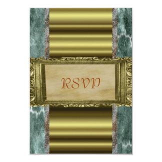 "Elegant RSVP 3.5"" X 5"" Invitation Card"