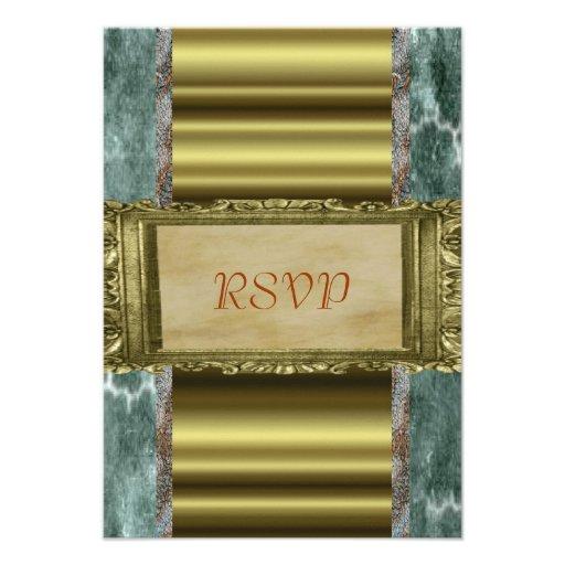Elegant RSVP Invitation
