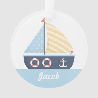 Elegant Sail boat Nautical Theme For Boys Room