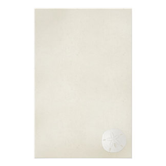 Elegant Sand Dollar Stationary 2 Stationery