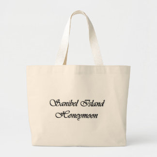 Elegant Sanibel Island Honeymoon Large Tote Bag