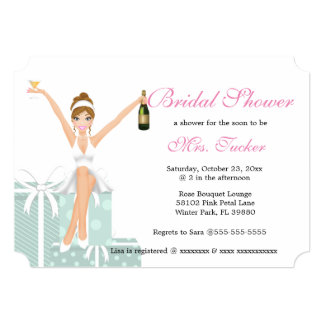 Elegant Sassy Bride To Be Bridal Shower Card