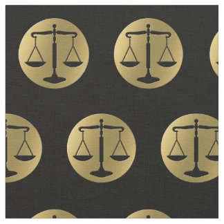 Elegant Scales of Justice | Lawyer Fabric