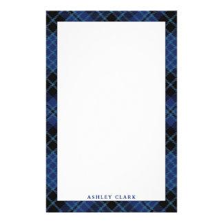 Elegant Scottish Clergy Tartan Plaid Stationery