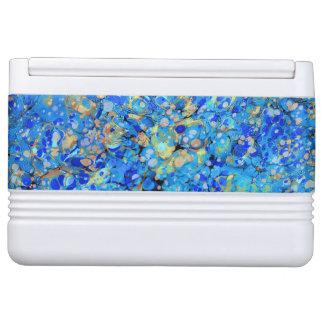 Elegant sea blue beautiful pattern