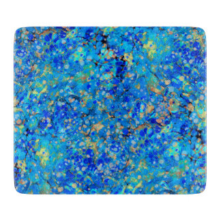 Elegant sea blue beautiful pattern boards