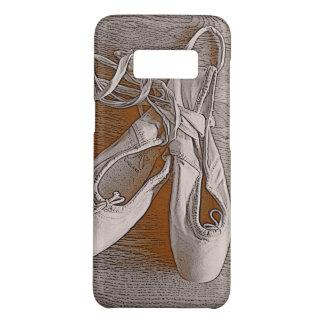 Elegant Sepia Pastel Pink Ballet Dancer Shoes Case-Mate Samsung Galaxy S8 Case