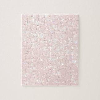 Elegant, shine, light rose jigsaw puzzle