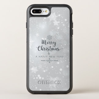 Elegant Silver Christmas & New Year | Phone Case
