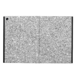Elegant Silver Glitter Cover For iPad Air