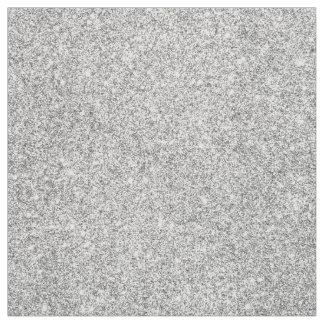 Elegant Silver Glitter Fabric