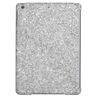 Elegant Silver Glitter iPad Air Case
