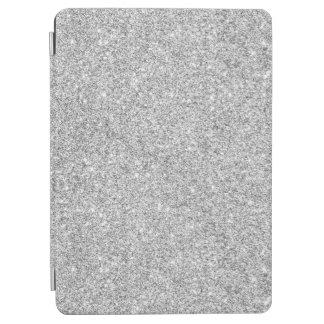 Elegant Silver Glitter iPad Air Cover