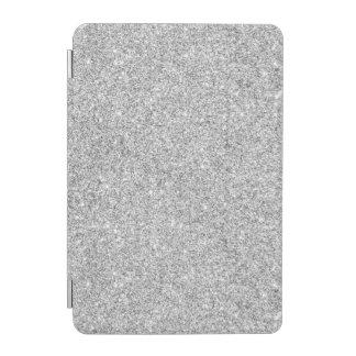 Elegant Silver Glitter iPad Mini Cover