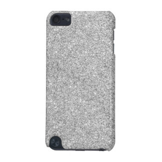 Elegant Silver Glitter iPod Touch 5G Cover