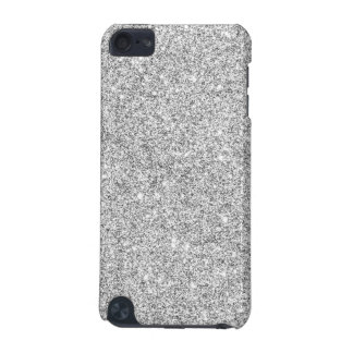 Elegant Silver Glitter iPod Touch 5G Covers
