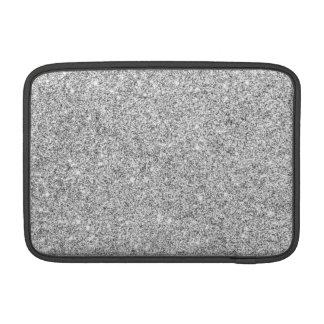 Elegant Silver Glitter MacBook Air Sleeve