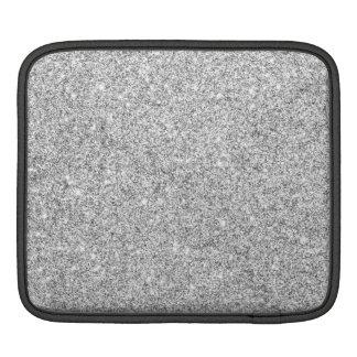 Elegant Silver Glitter Sleeves For iPads