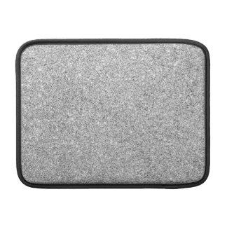 Elegant Silver Glitter Sleeves For MacBook Air