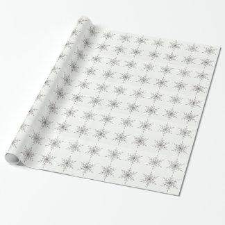 Elegant Silver Snowflakes