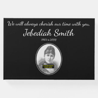 Elegant & Simple Sympathies Guestbook