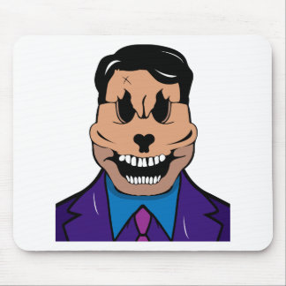 Elegant skull mouse pad