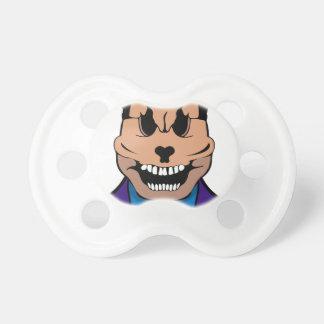 Elegant skull pacifier