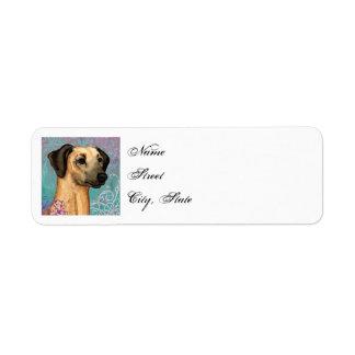 Elegant Sloughi Return Address Label