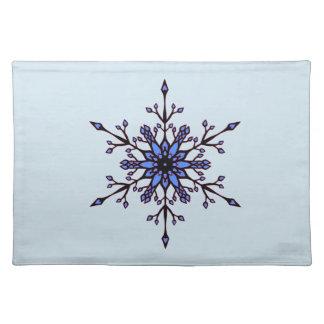 Elegant Snowflake Placemat