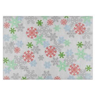 Elegant Snowflakes Cutting Boards