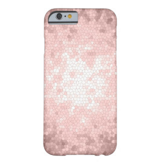 elegant sophisticated girly rose gold pattern barely there iPhone 6 case