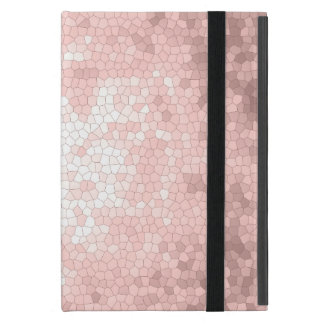 elegant sophisticated girly rose gold pattern case for iPad mini