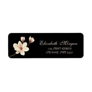Elegant Sophisticated Magnolia  Address
