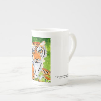 Elegant soulful tiger mug