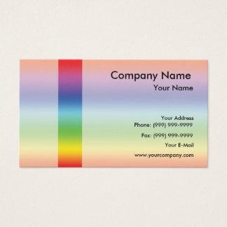 Elegant spectrum business card