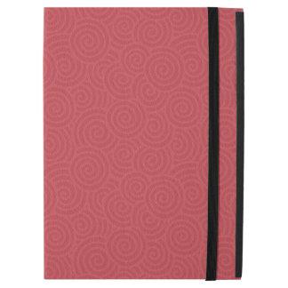 Elegant Spirals Custom Ruby Red