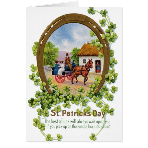 Elegant St Patrick's Day Greeting Card