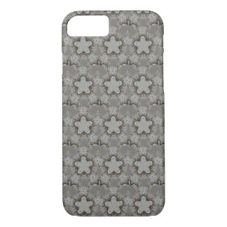 Elegant Starry Decorative Silver Gray Stars iPhone 8/7 Case