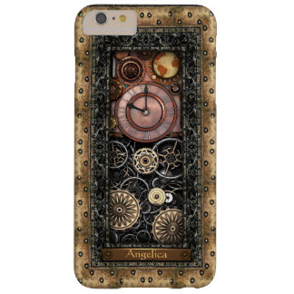 Elegant Steampunk Customizable Barely There iPhone 6 Plus Case